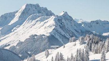 Lyžařské středisko Hinterglemm - fotografie