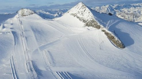 Lyžařské středisko Hintertux - fotografie