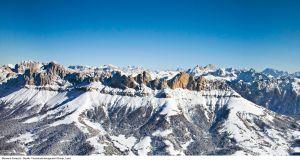 Lyžařská oblast Itálie - fotografie