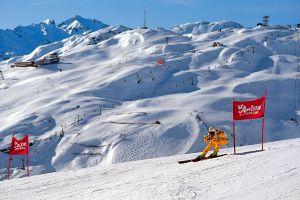 Lyžařská oblast Arlberg - fotografie