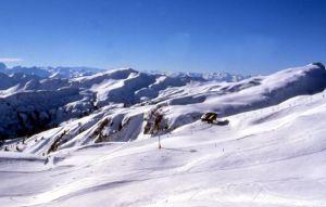 Lyžařská oblast Bregenzerwald - fotografie