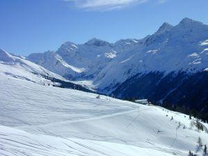 Lyžařská oblast Davos - Klosters - fotografie
