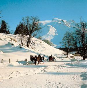 Lyžařská oblast Engelberg - fotografie