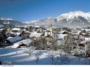 Lyžařská oblast Innsbruck - fotografie