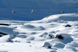 Lyžařská oblast Ischgl - fotografie