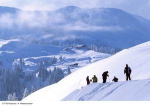 Lyžařská oblast Kitzbühel a Kirchberg - fotografie