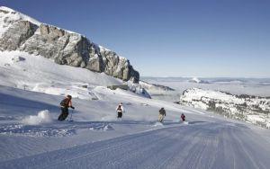 Lyžařská oblast Le Grand Massif - fotografie