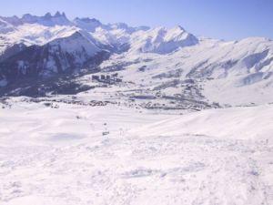 Lyžařská oblast Les Sybelles (Le Corbier / La Toussuire) - fotografie
