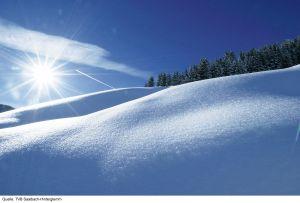 Lyžařská oblast Saalbach / Hinterglemm - fotografie