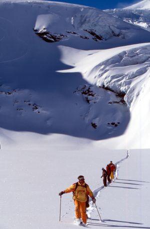 Lyžařská oblast Saas Fee a Saastal - fotografie