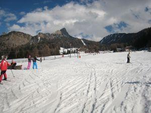 Lyžařská oblast Val Gardena / Alpe di Siusi - fotografie