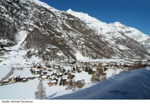 Lyžařská oblast Zermatt - fotografie
